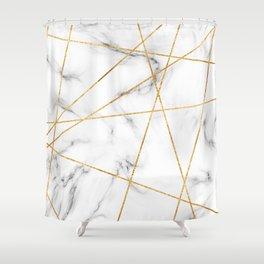 Luxury Marble Shower Curtain