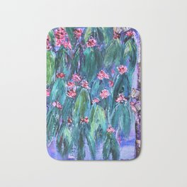 Rustic Flowering Gum Bath Mat