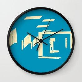 Diagonal light passage Wall Clock