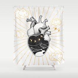 Desert Heart Inktober :: More Magick Shower Curtain