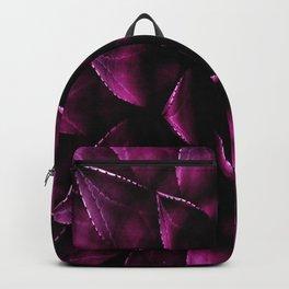 Deep Magenta Succulent Backpack