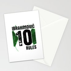 Ibrahimovic 10 Rules Stationery Cards