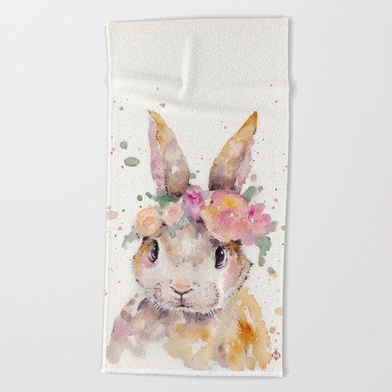 Little Bunny Beach Towel