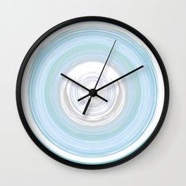 Ebb and Flow - Aqua Wall Clock