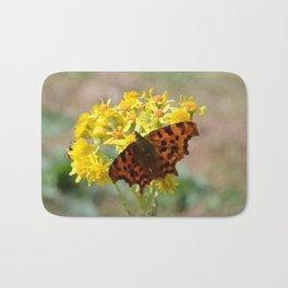 Comma Butterfly Bath Mat