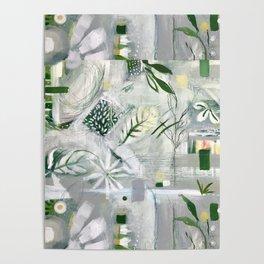 green_pattern Poster