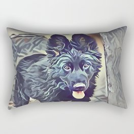 The Belgian Shepherd Rectangular Pillow