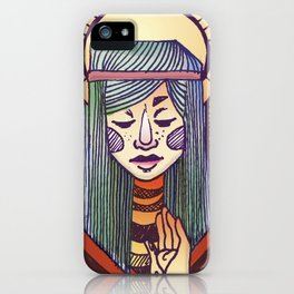 Get Well Lady iPhone Case