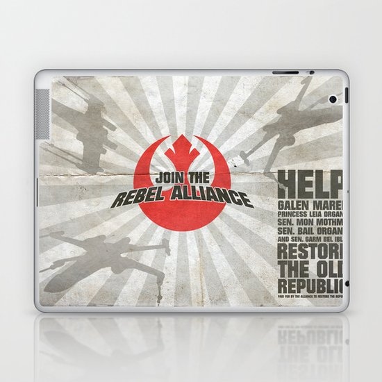 Join the Rebel Alliance Laptop & iPad Skin