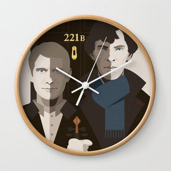 British Gothic Wall Clock