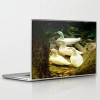 duck Laptop & iPad Skins featuring duck by gzm_guvenc