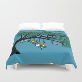 Buoy Tree by Seasons K Designs for Salty Raven Duvet Cover