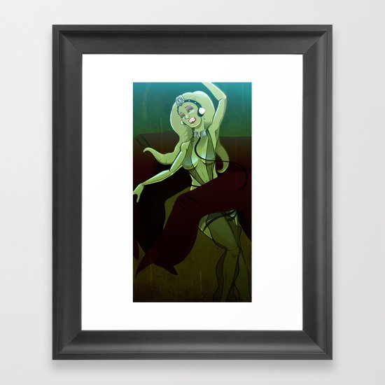 Oola's Fate Framed Art Print