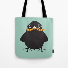 Baby Raven, Worm Tote Bag