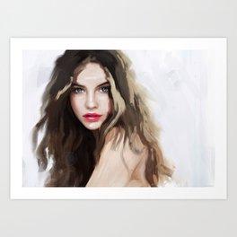 Barbara Palvin Art Print