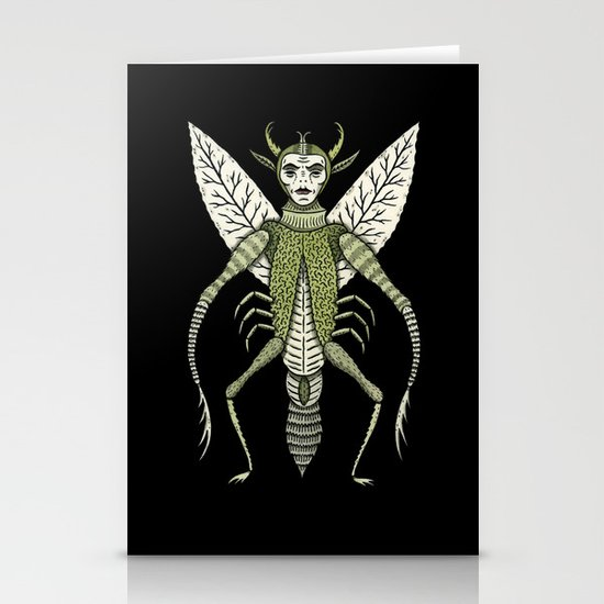 Ten-Legged Creepy Crawly Stationery Cards