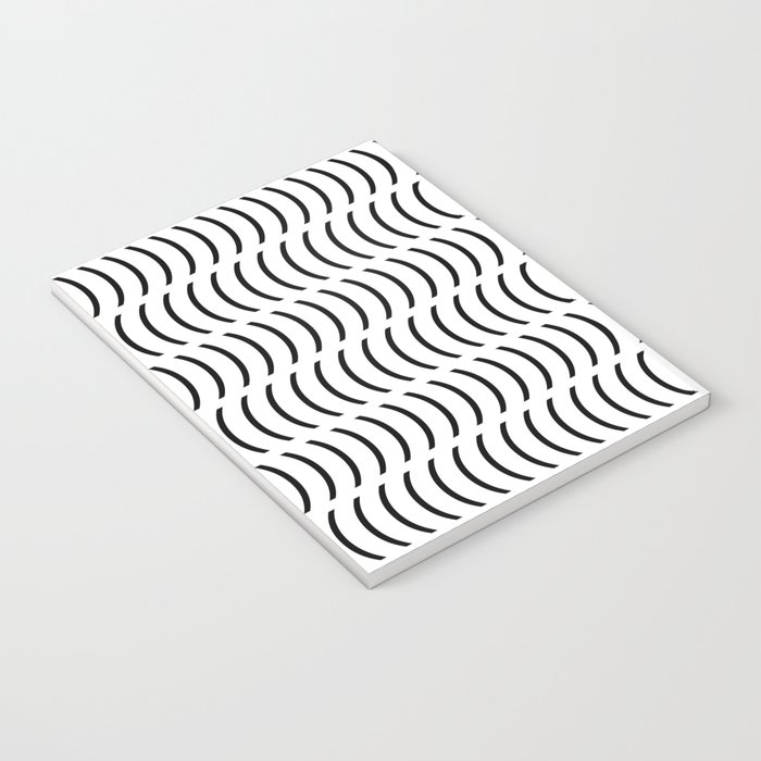 Smiley Small B&W Notebook