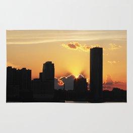 Hot Summer City Sun Rug
