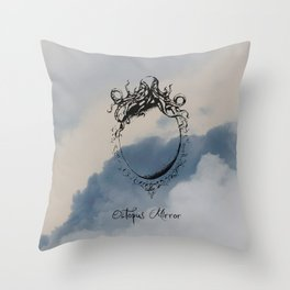 "Collection "" Nightmares"" impression ""Mirror Octopus"" Throw Pillow"