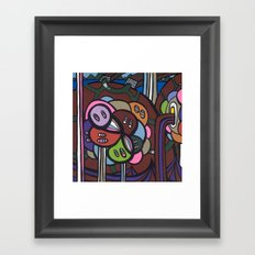 the LONG LOST SEARCH for the MISSING DNA Framed Art Print