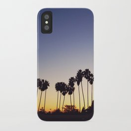 California Sunsets iPhone Case