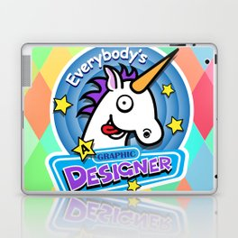 Everybody's a Graphic Designer Laptop & iPad Skin