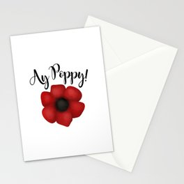Ay Poppy! Stationery Cards