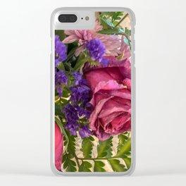 Flower boutique Clear iPhone Case