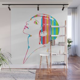 Barbra Streisand | Pop Art Wall Mural