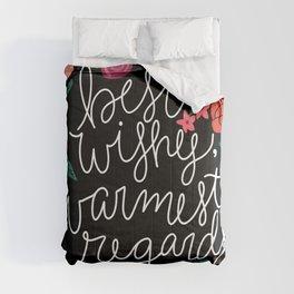 Best Wishes, Warmest Regards Comforters