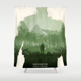 Uncharted 1 Shower Curtain