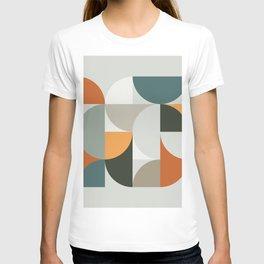 Mid Century Geometric 12 T-shirt