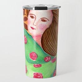 Sofia. Beautiful woman collection Travel Mug