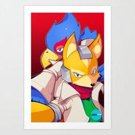 Spacies Art Print