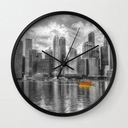 Singapore Marina Bay Sands Wall Clock