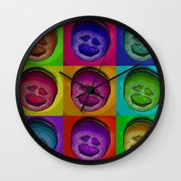 screaming tomato Wall Clock