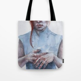 giving away my hands Tote Bag