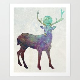 Timekeeper Art Print