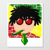 reggae Canvas Prints featuring Reggae Kazoo by mailboxdisco