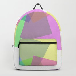 Rectangles flux - Vector Backpack