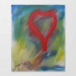 A full heart Canvas Print