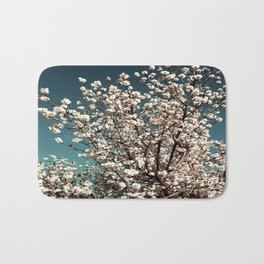 Winter Blossoms Bath Mat