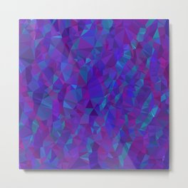 Jewel Tone Sparkles Metal Print