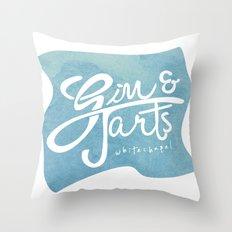 Gin & Tarts Throw Pillow