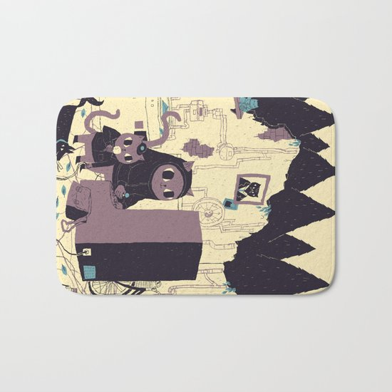old discovery Bath Mat