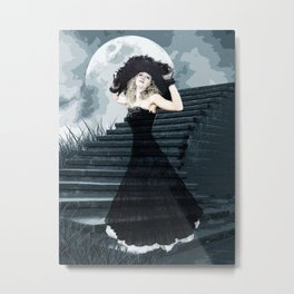BELLE OF THE FULL MOON BALL Metal Print