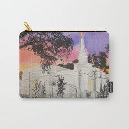 Melbourne Australia LDS Temple Carry-All Pouch
