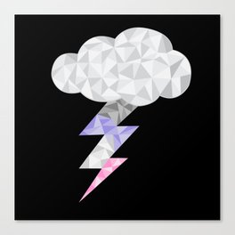 Cupiosexual Storm Cloud Canvas Print