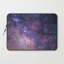 Purple Galaxy Star Travel Laptop Sleeve