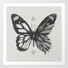 Delicate Existence Art Print